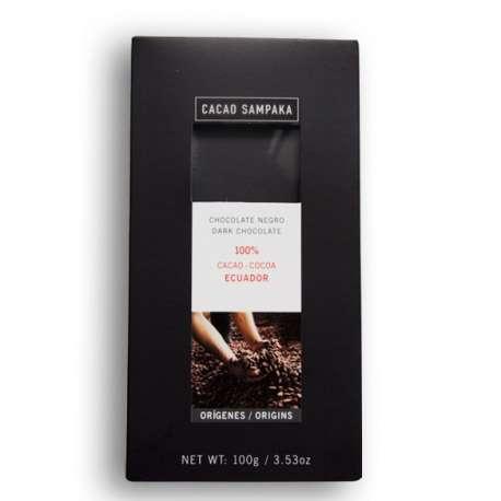 Chocolate negro 100% Ecuador