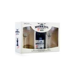 Ginebra Mombasa + 2 copas de regalo