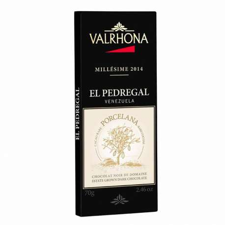 Chocolate negro El Pedregal 64% Valrhona