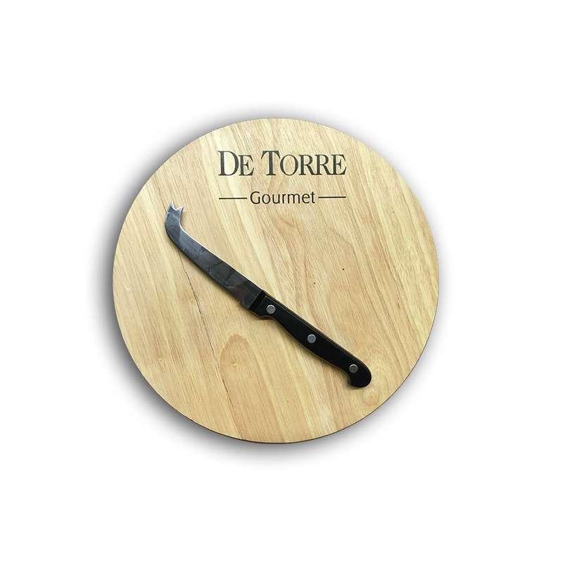 Tabla de queso con cuchillo especial para cortar queso for Cuchillo cortar queso