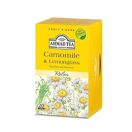 Té de camomila y lemongrass