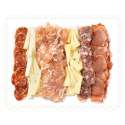 Bandeja serrana y quesos curados