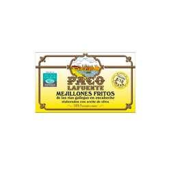 Mejillones Fritos 8/10 Paco La Fuente 115g