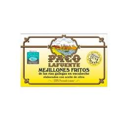 Meillones Fritos Paco La Fuente 12/14 115g