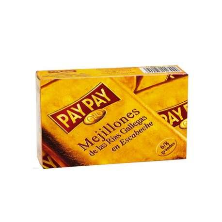 Mejillones 6/8 Oro Pay Pay 115g