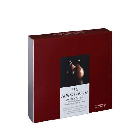 Bombón de higos de chocolate - Rabitos Royale