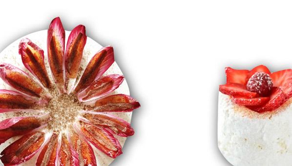 recetas para emplatar tipo flor