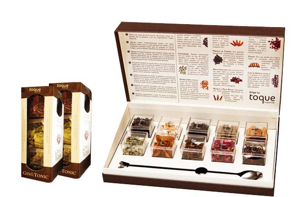 Paquete de especias para dar un toque a tu Gin Tonic