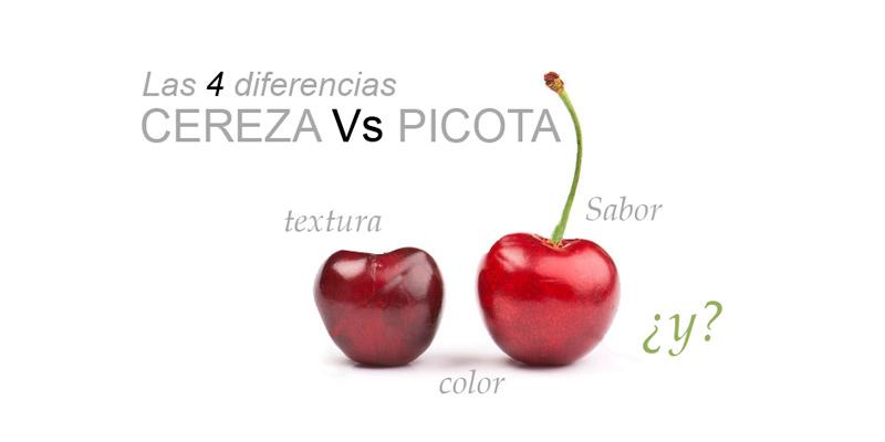 Diferencias entre la cereza y la picota | De Torre Gourmet ...