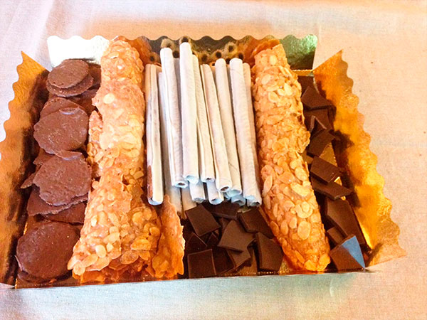 Bandeja de dulces