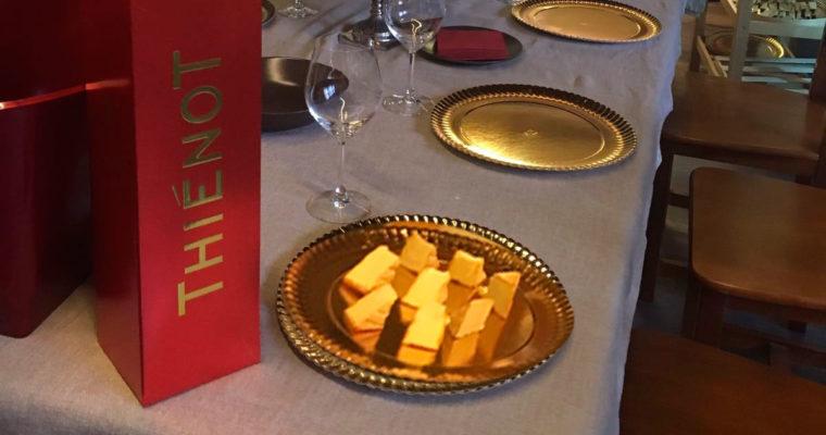Maridaje queso y Thienot