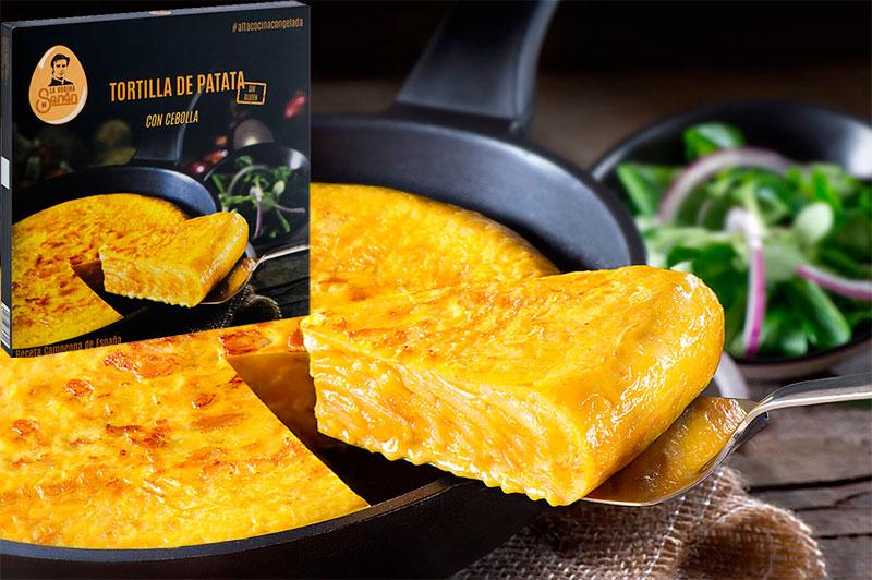 Tortilla de patata senen