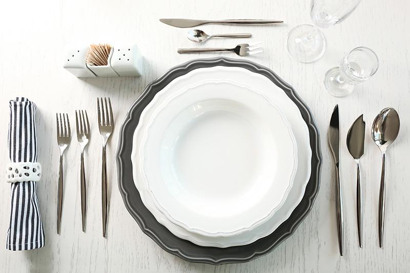 El protocolo en las mesas de navidad y fin de a o de torre gourmet logro o queser a fruter a - Cristalerias en logrono ...