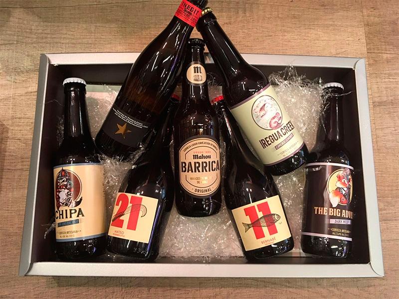 Varios tipos de cerveza