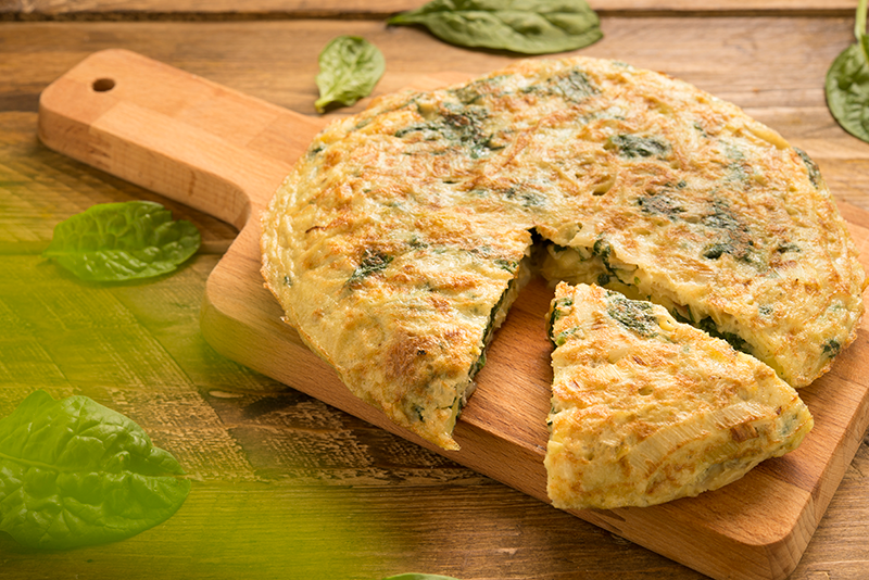 Omelette-of-spinach-and-cheese-and-leek-
